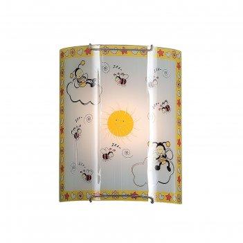 Светильник пчелки 1x100вт e27 белый 22x10x26см