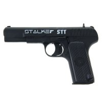 Пистолет пневматический stalker sтт (тульский токарев) арт 21051т 4,5 мм,