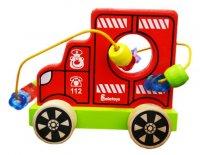 Лабиринт -каталка пожарная машина