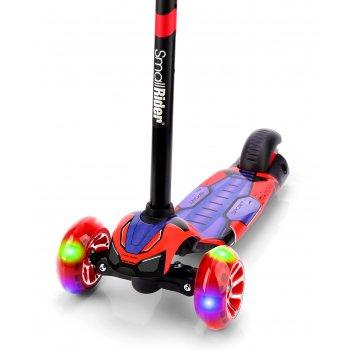 Детский трехколесный самокат со светящими колесами small rider turbo 2 spa
