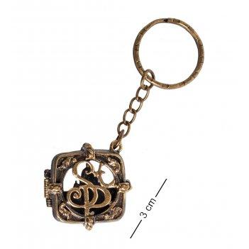 Am- 848 брелок медальон санкт-петербург (латунь)