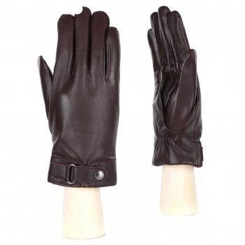 Перчатки мужские,натуральная кожа (размер 8.5) коричневый