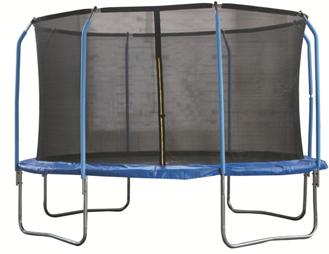 Батут 10-футовый с двумя стойками (2 кор.)
