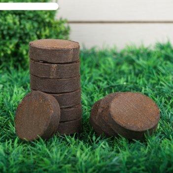 Таблетки торфяные, d = 4,2 см, набор 50 шт.