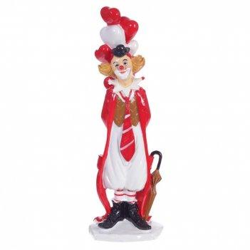 Фигурка декоративная клоун, l9 w7 h26 см