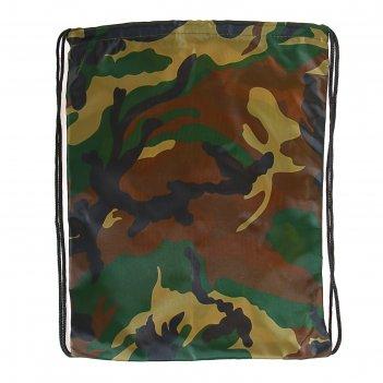 Мешок для обуви стандарт 420*350 calligrata мсо-к милитари