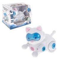 Робот электронные питомцы кошка, работает от батареек, световые и звуковые