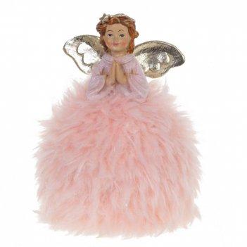 Фигурка декоративная ангел, l9,5 w8 h13 см
