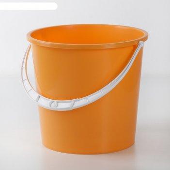 Ведро пластиковое 5 л крепыш, цвета микс