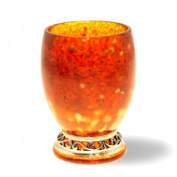 стаканы из янтаря