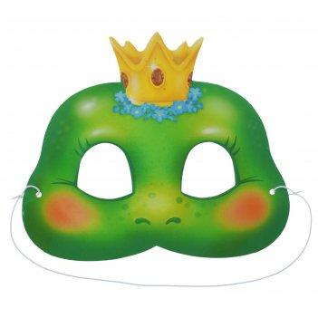 Маска карнавальная царевна-лягушка