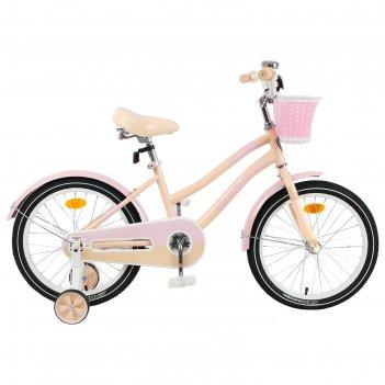 Велосипед 20 graffiti flower, цвет персиковый/розовый