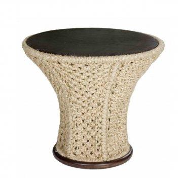 Стол сизалевый leda флора, садовая мебель