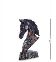 10-015-02 фигурка лошадь (батик, о.ява) сред 20см