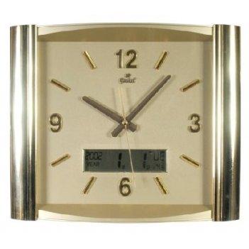 Настенные часы gastar t 527 c sp (пластик, время вслух)