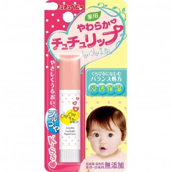 Детская гигиеническая помада chu chu baby, защитная и увлажняющая, с масло