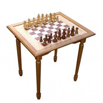 Стол шахматный массив березы