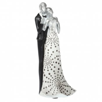 Фигурка декоративная влюбленная пара, l11,5 w7,2 h25,5 см