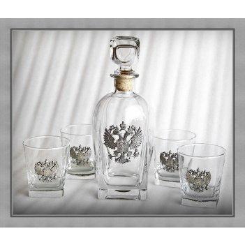 Набор для виски 307 держава. арт. ншт307др-24