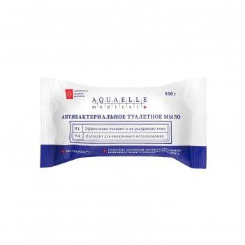 Мыло твёрдое aquaelle medical дезинфицирующее антибактериальное  100 гр