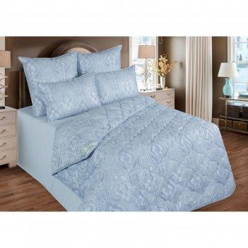 Одеяло облегченное 140х205 см, бамбуковое волокно, ткань тик, п/э 100%