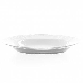Блюдо овальное bernadotte недекорированный 24 см