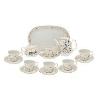 Сервиз чайный кадет. злата 15 предметов: 6 чашек чайных 200 мл, 6 блюдец ч