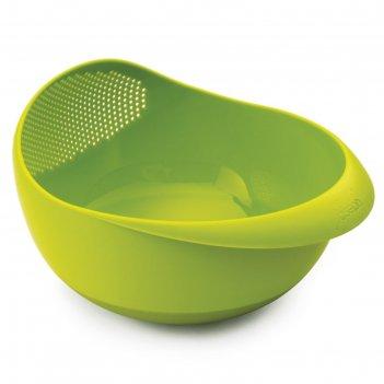 Миска-дуршлаг 2-в-1 joseph joseph prep&serve, малая, зелёная