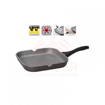 Сковорода-гриль с антипригарным покрытием grania 28*28 см 728120
