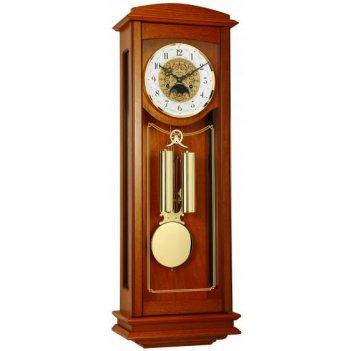 Механические настенные часы с боем и индикатором фазы луны