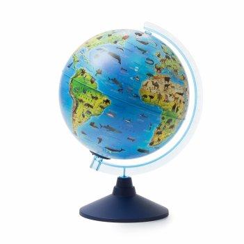 Глобус globen ве012500268 зоогеографический (батарейки) 250 классик евро