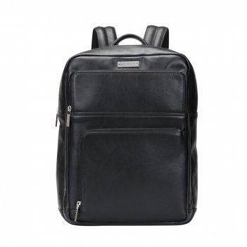 Рюкзак мужской cross insignia express black, кожа наппа, гладкая, чёрный