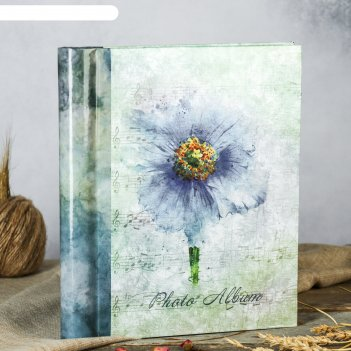 Фотоальбом магнитный 30 листов цветочная коллекция-7 23x28см микс