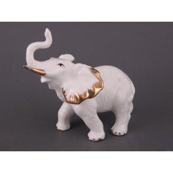 Сувенир слон белый высота=12 см, диаметр=13 см. ...