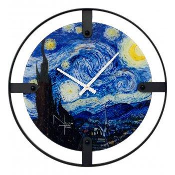 Slt-05 часы настенные van gogh starry night