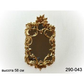 Зеркало высота=58 см ширина=33 см