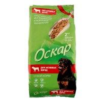 Сухой корм оскар для собак активных пород, 2 кг