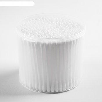 Ватные палочки, в тубе, 300 шт., цвет белый