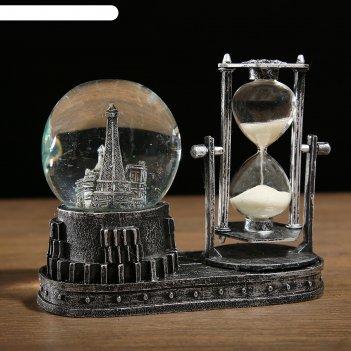 Часы песочные достопримечательности, микс, 6.5х15.5х14.5 см,