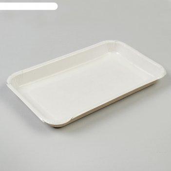 Лоток для сервировки и фасовки, 23 х 14 х 2 см