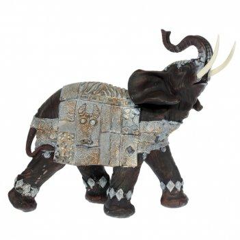 Фигурка декоративная слон, l34 w12 h31 см