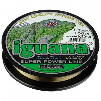 Леска balsax iguana box 0.25, 100м