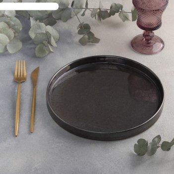 Тарелка 24 см сталь