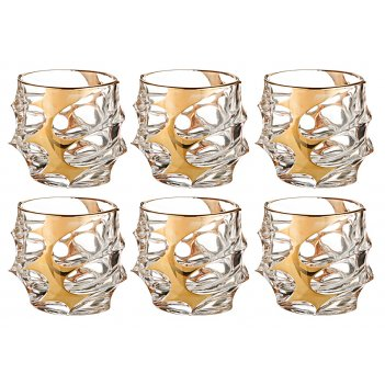 Набор стаканов для виски из 6 шт. калипсо голд 3...