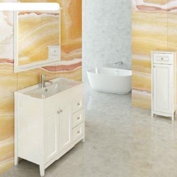Зеркало comforty «тбилиси-90» белый