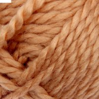 Пряжа мелодия 50% шерсть, 50% акрил 100м/100гр (0197, песочный)