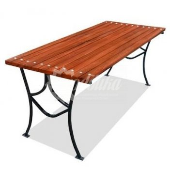Стол садовый «элегант» 1,2 м