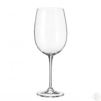 Набор бокалов для вина crystalite bohemia fulica 640 мл(6 шт)