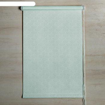 Штора рулонная «дольче вита», 160 х 160 см, цвет мятный