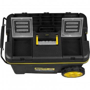 Ящик-тележка stayer professional bigpro, пластиковая, для инструмента, 620
